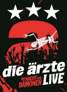 Die Ärzte: Die Nacht der Dämonen: Live, 2 DVDs