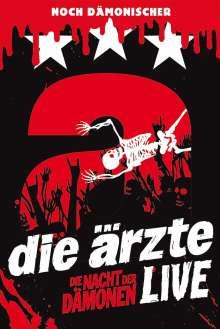 Die Ärzte: Die Nacht der Dämonen: Live (2 DVD Deluxe Edition + USB-Stick), 2 DVDs