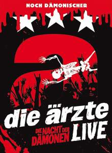 Die Ärzte: Die Nacht der Dämonen: Live (Deluxe-Edition + USB-Stick), Blu-ray Disc