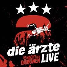 Die Ärzte: Die Nacht der Dämonen: Live (3 CDs + Buch), 3 CDs