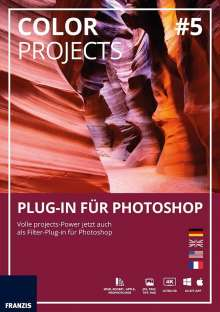 Color projects 05 Plug-In für Photoshop (Win & Mac), DVD-ROM