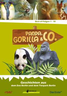 Panda, Gorilla & Co. Vol.1 (Folgen 1-10), DVD