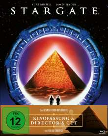 Stargate (Blu-ray im Mediabook), 2 Blu-ray Discs