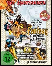 Ray Harryhausen - Fantasy Klassiker der Weltliteratur (Blu-ray), 3 Blu-ray Discs