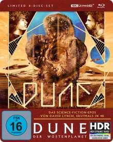 Dune - Der Wüstenplanet (Ultra HD Blu-ray & Blu-ray im Steelbook), 1 Ultra HD Blu-ray und 2 Blu-ray Discs