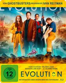 Evolution (Blu-ray im Steelbook), Blu-ray Disc