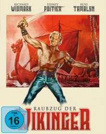 Raubzug der Wikinger (Blu-ray & DVD im Mediabook), 1 Blu-ray Disc und 1 DVD