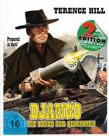 Django und die Bande der Gehenkten (Blu-ray im Mediabook), 2 Blu-ray Discs