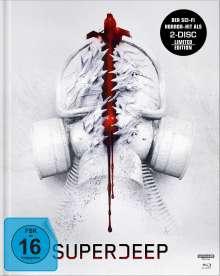 Superdeep (Ultra HD Blu-ray & Blu-ray im Mediabook), 1 Ultra HD Blu-ray und 1 Blu-ray Disc
