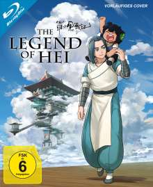 The Legend of Hei (Collector's Edition) (Blu-ray), Blu-ray Disc