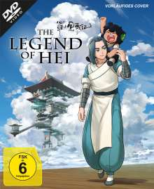 The Legend of Hei (Collector's Edition), DVD