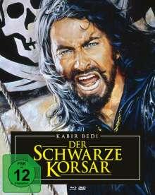 Der schwarze Korsar (Blu-ray & DVD im Mediabook), 1 Blu-ray Disc und 2 DVDs