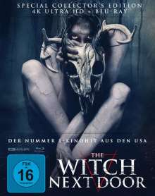 The Witch next Door (Ultra HD Blu-ray & Blu-ray im Mediabook), 1 Ultra HD Blu-ray und 1 Blu-ray Disc