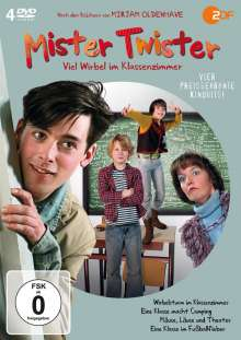 Mister Twister Box, 4 DVDs