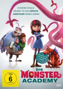 Die Monster Academy, DVD