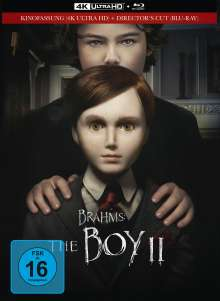 Brahms: The Boy II (Ultra HD Blu-ray & Blu-ray im Mediabook), 1 Ultra HD Blu-ray und 1 Blu-ray Disc