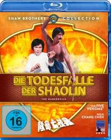 Die Todesfalle der Shaolin (Blu-ray), Blu-ray Disc