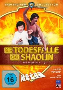 Die Todesfalle der Shaolin, DVD