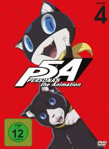 PERSONA5 the Animation Vol. 4, 2 DVDs