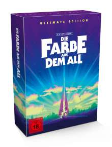 Die Farbe aus dem All (Ultimate Edition) (Ultra HD Blu-ray & Blu-ray im Mediabook), 1 Ultra HD Blu-ray, 5 Blu-ray Discs und 1 CD