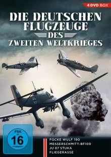 Die deutschen Flugzeuge des Zweiten Weltkrieges, 4 DVDs