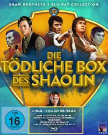 Die tödliche Box des Shaolin (Blu-ray), 5 Blu-ray Discs