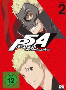 PERSONA5 the Animation Vol. 2, 2 DVDs
