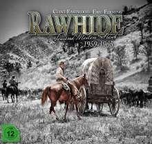 Rawhide - Tausend Meilen Staub (Komplette Serie) (Collector's Box im LP Format), 59 DVDs und 1 Blu-ray Disc