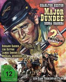 Major Dundee - Sierra Charriba (Blu-ray im Mediabook), 2 Blu-ray Discs
