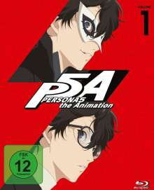PERSONA5 the Animation Vol. 1 (Blu-ray), Blu-ray Disc
