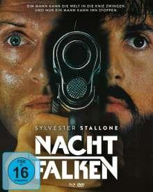Nachtfalken (Blu-ray & DVD im Mediabook), 1 Blu-ray Disc und 2 DVDs