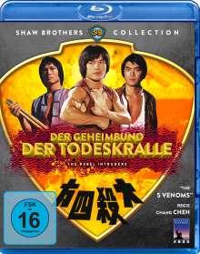 Der Geheimbund der Todeskralle (Blu-ray), Blu-ray Disc