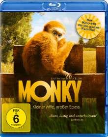 Monky - Kleiner Affe, großer Spass (Blu-ray), Blu-ray Disc