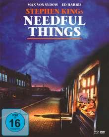 Needful Things - In einer kleinen Stadt (Blu-ray & DVD im Mediabook), 1 Blu-ray Disc und 2 DVDs