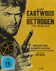 Betrogen (1971) (Blu-ray & DVD im Mediabook), 1 Blu-ray Disc und 2 DVDs
