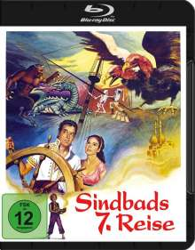 Sindbads 7. Reise (Blu-ray), Blu-ray Disc