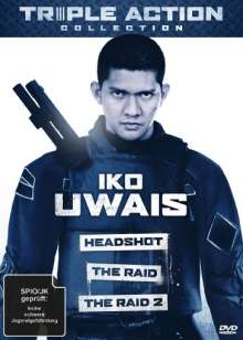 Iko Uwais Triple Action Collection, 3 DVDs
