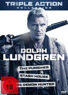 Dolph Lundgren Triple Action Collection, 3 DVDs