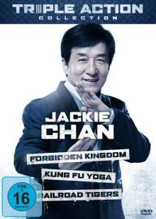 Jackie Chan Triple Action Collection, 3 DVDs