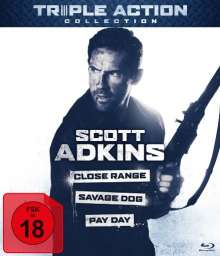 Scott Adkins Triple Action Collection (Blu-ray), 3 Blu-ray Discs