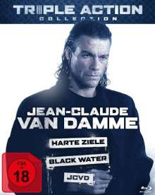 Jean-Claude van Damme Triple Action Collection (Blu-ray), 3 Blu-ray Discs