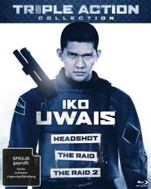 Iko Uwais Triple Action Collection (Blu-ray), 3 Blu-ray Discs