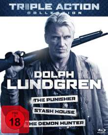 Dolph Lundgren Triple Action Collection (Blu-ray), 3 Blu-ray Discs