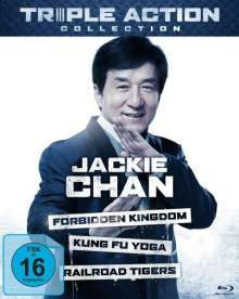 Jackie Chan Triple Action Collection (Blu-ray), 3 Blu-ray Discs