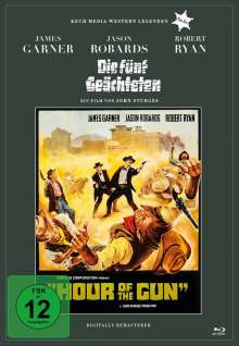 Die fünf Geächteten (Blu-ray), Blu-ray Disc