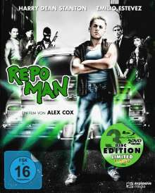 Repo Man (Blu-ray & DVD im Mediabook), Blu-ray Disc