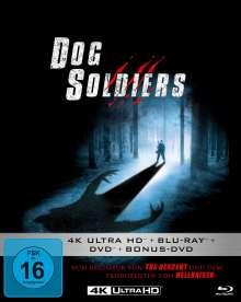 Dog Soldiers (Ultra HD Blu-ray, Blu-ray & DVD im Mediabook), Ultra HD Blu-ray