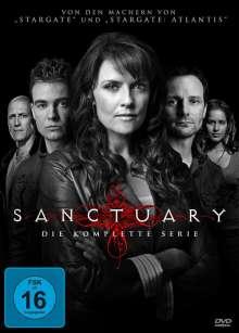 Sanctuary (Komplette Serie) (Blu-ray), 13 Blu-ray Discs
