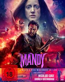 Mandy (Blu-ray & DVD im Mediabook), 3 Blu-ray Discs
