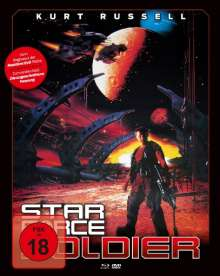 Star Force Soldier (Blu-ray & DVD im Mediabook), Blu-ray Disc